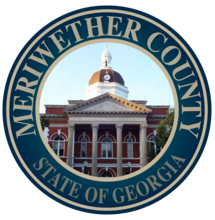 Meriwether County State of Georgia Seal